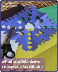 a thrifter in disguise winter themed religious education craft
