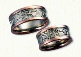 the story wedding band 52 best custom story designed wedding bands images on