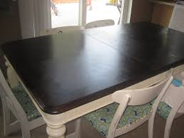 Refinish Dining Chairs Furniture How To Refinish A Table Design Ideas With Black Wooden
