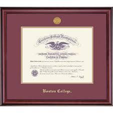 diploma frame 1516d boston college diploma frame boston college