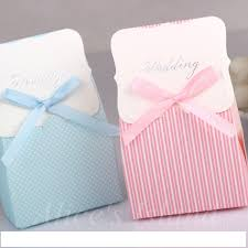 cookie box favors 50 pcs lot wedding blue favor gift box candy chocolate