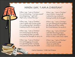 58 best when i say i am a christian images on