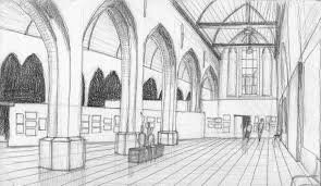 pencil drawings marie laure pacquet architecture dab103