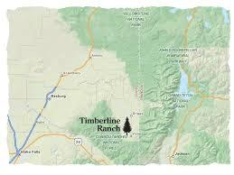 Jackson Hole Map Timberline Ranch Idaho U2013 U2013