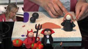 polymer clay tutorials how to make a cute halloween witch youtube