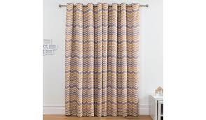 Asda Nursery Curtains Chevron Cotton Lined Curtains Yellow Home U0026 Garden George