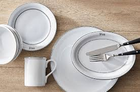 dinnerware sets for 8 dinnerware collections pottery barn