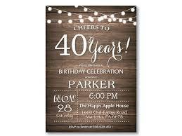 best 25 40th birthday invitations ideas on pinterest mans 40th