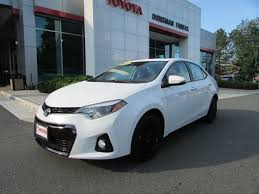 toyota corolla special edition 2016 used 2016 toyota corolla s special edition sedan for sale