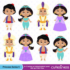 princess digital clipart princess clipart aladdin cutesiness