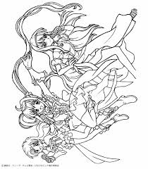 mermaid melody coloring pages hellokids