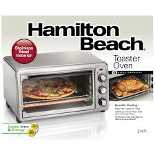 Hamilton Beach 6 Slice Toaster Oven Review Hamilton Beach Stainless Steel Toaster Oven 31411