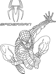 nice spiderman coloring pages wecoloringpage pinterest