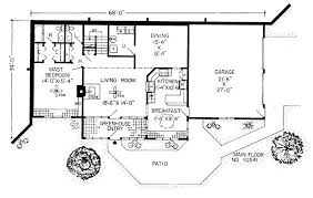 Earth Shelter Underground Floor Plans Small Bermed U Shaped House Plan Years Earth Sheltered House
