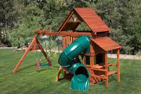 backyard wooden swing set archives westtexasswingsets