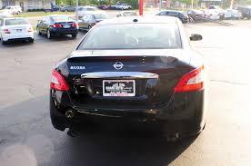 nissan murano le 2009 2009 nissan maxima black sedan navigation sale