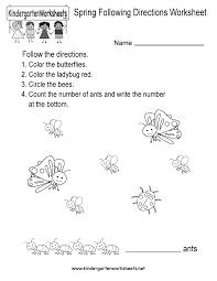 index of images worksheets spring
