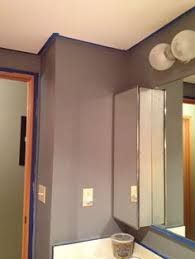 silver fox and dior gray by benjamin moore in my loft dramatic