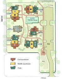 cohousing floor plans delaware street commons cohousing site plan