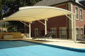 How To Build A Freestanding Patio Roof by Pool Shade Ideas 7 Ways To Cover Your Swimming Pool