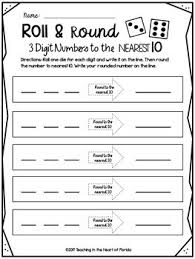 rounding to the nearest 10 and 100 worksheets tpt