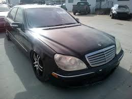 mercedes s500 2003 2003 mercedes s500 vin wdbng75j33a383327 for sale and auction