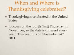 what is thanksgiving thanksgiving is a that is known