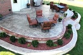 Raised Paver Patio Raised Paver Patio Gorgeous Raised Patio Patio Design Photos