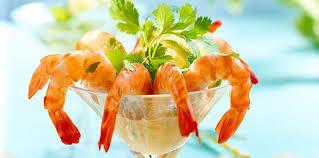 comment cuisiner des crevettes roses cocktail de crevettes roses facile recette sur cuisine actuelle