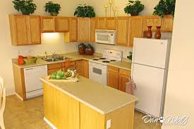 very small white kitchen interior design