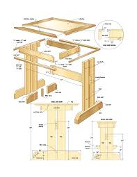 Wood Plans For Small Tables by Woodworking Plans Breakfast Nook Good Woodworking Projects Qq9
