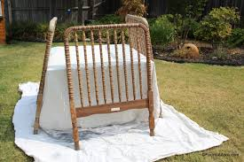 Antique Jenny Lind Twin Bed by How To Convert A Jenny Lind Crib Into A Twin Headboard U2013 Four To Adore