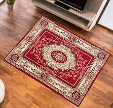 tappeto disegno tappeto salotto moderno colore rosso disegno fiori di