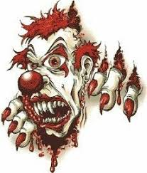 image result for evil clown tattoos jester tattoo pinterest