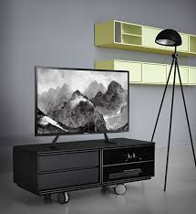 amazon com fitueyes universal lcd flat screen tv table top stand