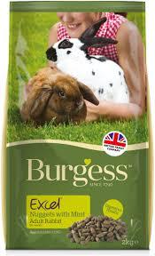 rabbit food burgess excel tasty nuggets with mint rabbit food