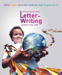 Apply Universal Postal Union International Letter Writing 2015 International Letter Writing Competition Urges Youth To