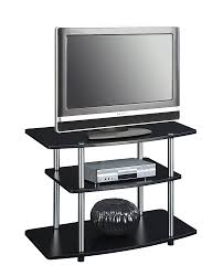 Furniture Tv Stands For Flat Screens Amazon Com Convenience Concepts Designs2go 3 Tier Tv Stand For