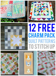free charm pack quilt patterns to stitch up