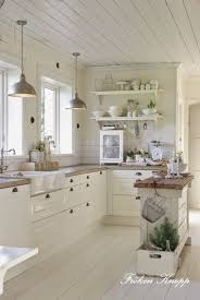 Best  Rustic White Kitchens Ideas On Pinterest Rustic Chic - Country white kitchen cabinets