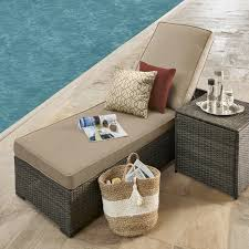 Grand Resort Patio Furniture Grand Resort Monterey Chaise Lounge Neutral Limited