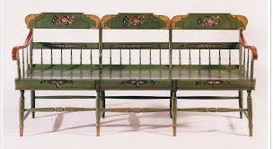 Antique Windsor Bench A Tablet Top Windsor Settee Sold Olde Hope Antiques