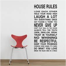 wall decals australia wall art stickers tree nursery baby room house rules wall quote