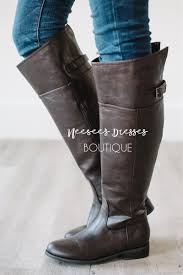 brown motorcycle boots dark brown riding boot cute fall boots affordable boutique boots