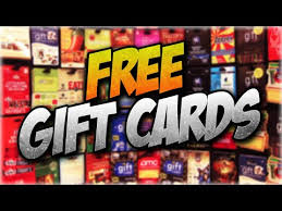 free gift cards how to get free gift cards free