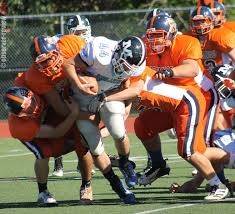 penn yan mustangs mustangs dominate homecoming arnold named