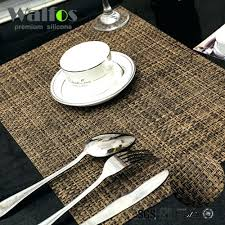 placemats for round table round table placemats pattern dining plastic amazon