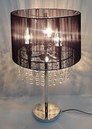 Chandelier Desk Lamp Chandelier Table Lamp Black Amazon Co Uk Lighting