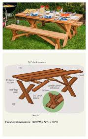 Diy Small Round Wood Park Picnic Table With Detached Octagon Bench by Best 25 Pallet Picnic Tables Ideas On Pinterest Diy Picnic