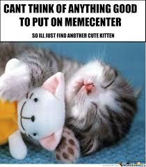 Cute Kitten Memes - another cute kitten by darkenpanthera meme center